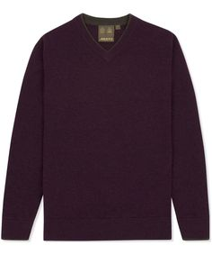 This men's Musto Shooting V-Neck Sweater is perfect for finishing off a country casual look with inimitable stylish details that you have come to expect from Mu Jumper, Men Sweater, Country Casual, This Man, Casual Looks, Cuffs, Contrast, Neckline, V Neck