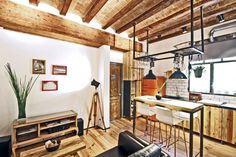 Apartment in Barcelona by Transfodesign  How to use our photo inspired light