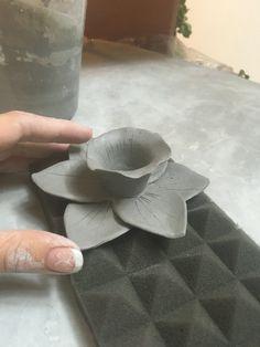Dafodiles de Ceramica por Regina S