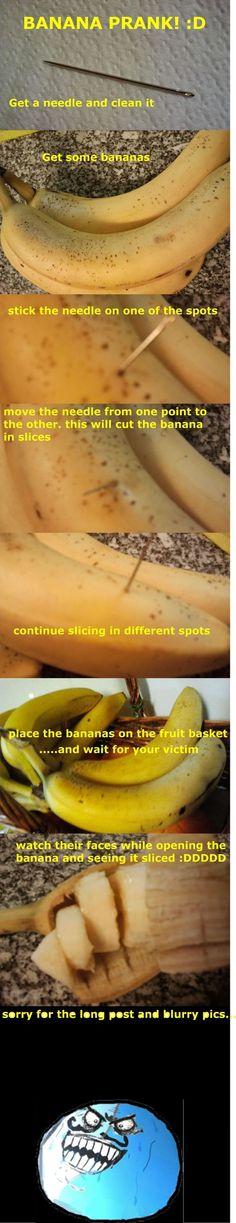 The Evil Banana Prank #pranks #funny #prank #comedy #jokes #lol