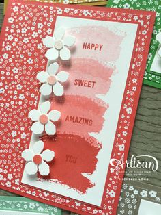 Onstage Display Cards 2 Stampin365