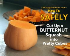 Steamed Butternut Squash ♥ How to Steam Butternut Squash in a Collapsible Steamer Basket Best Butternut Squash Recipe, Cut Butternut Squash, Roasted Butternut, Ww Recipes, Fall Recipes, Real Food Recipes, Indian Pudding, Vegetable Side Dishes, Winter Food