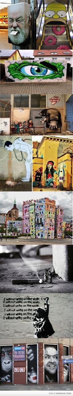 Awesome Street Art In Germany - Damn! LOL