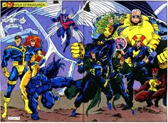 X-Factor Did you Know that after the X-Tinction Agenda Cyclops and the Original X-Factor team went back to the X-Men & Havok took over X-factor and it became a government agency? BTW, I hate Strong Guy…what a crappy name!