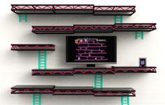 Donkey Kong shelves - brilliant - Imgur
