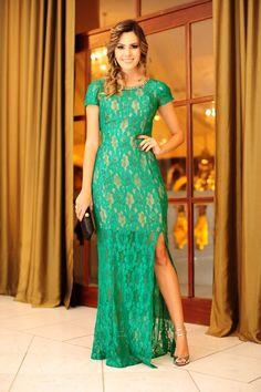 Look do dia: vestido longo: