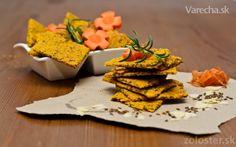 Zdravé mrkvové chipsy (fotorecept)