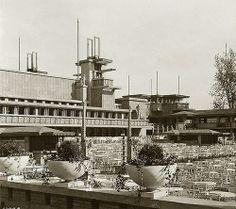 Frank Lloyd Wright, Midway Gardens, Chicago, Illinois, 1914. Demolished 1929.