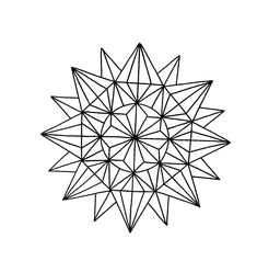 geometric mandala tattoo - Google Search