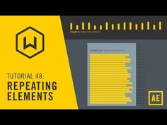 Tutorial 48: Repeating Elements - YouTube