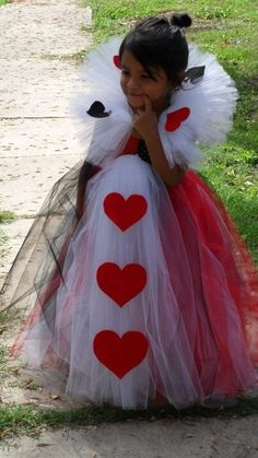 Queen of Hearts Tutu Dress by TUTUSandACCESSORIES on Etsy https://www.etsy.com/listing/110718119/queen-of-hearts-tutu-dress