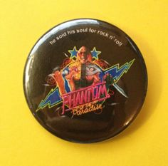 "2 1/4"" Phantom of the Paradise button"