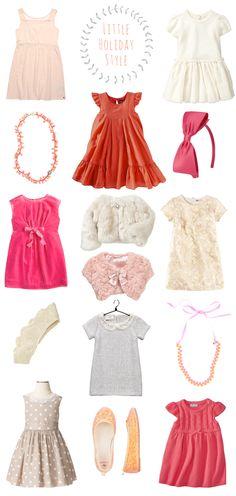 A Lovely Lark: Little Holiday Style: Girl