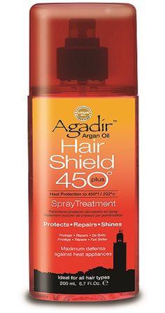 BeautyTidbits - Agadir Argan Oil Hair Shield 450° plus spray treatment