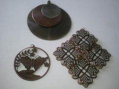 pendant on right,copper