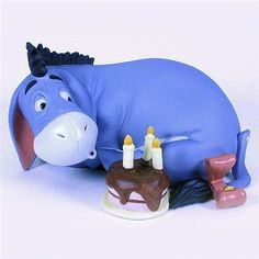 Eeyore's Birthday Cake Flossie's Gifts & Collectables