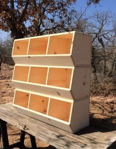 we can customize color. Organize your playroom with these chicken coop-style Toy Storage Bins. Handcrafted from pine, these bins are sturdy and built to withstand time, Toy Storage Bins, Kids Storage, Wood Storage, Jar Storage, Craft Storage, Closet Storage, Storage Organization, Woodworking Furniture, Woodworking Projects