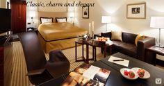 Guest Room at 5 star hotel: Kempinski Hotel Bristol. This hotel's address is: Kurfürstendamm 27 Charlottenburg Berlin 10719 and have 301 rooms Hotel Bristol, Berlin Hotel, Kempinski Hotel, Hotels, Loft Interiors, Guest Room, Indoor, Table, Furniture