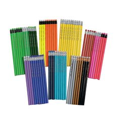 Mega Personalized Pencil Assortment - OrientalTrading.com  Can be used for all grades, CBF Pioneers Club 2014