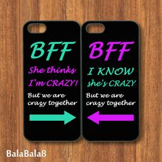 Best Friends iPhone 4 case iphone 5 Case iPod 4 case  by BaLaBaLa8, $28.99 Maryellen we need these