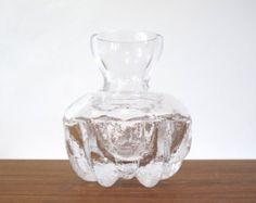 Skruf Sweden Glass Vase