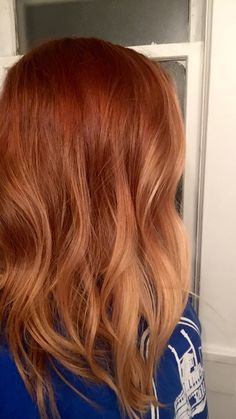 my ronze ombre hair!