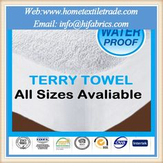 Extra Deep Waterproof Terry Towel Mattress Protector Double Size In Tucson