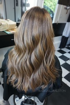 Honey BabyLights + Balayage Hair By Abigail Walston