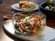 Classic Greek Salad recipe from Valerie Bertinelli via Food Network