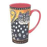 all things polka dots. #cat #dot #mug