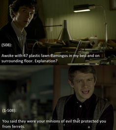 Texts From 221b Baker Street--this is terrible and wonderful