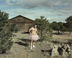 Photographer's Self-Portraits in Ballet Skirt Are Weapons in His Wife's Breast Cancer Battle
