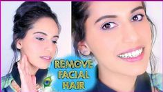How to Remove FACIAL HAIR Naturally at Home! Himani Wright (SIMPLE Homemade Mask)