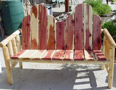 Big Dog Log Furniture - Handmade White Cedar Furniture and More!