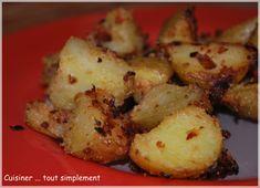 Pommes de Terre panées au Four - Cuisiner... tout Simplement, Le Blog de cuisine de Nathalie