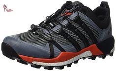 adidas Terrex Skychaser, Chaussures de Trail Homme, Gris (Vista Grey/Core Black/Energy), 42 2/3 EU - Chaussures adidas (*Partner-Link)