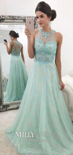 Long Prom Dresses Green, Modest Formal Dresses for Teens, A-line Military Ball Dresses Lace, Tulle Pageant Graduation Party Dresses beading Modest Formal Dresses, Formal Dresses For Teens, Prom Dresses, Graduation Dresses, Long Dresses, Blue Dresses, Glamorous Evening Dresses, Evening Dresses For Weddings, Winter Ball Dresses