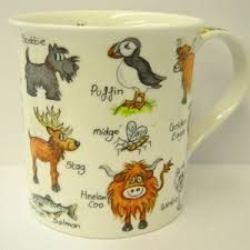 Scottish Wildlife Mug | EasyWays.com Walking Holidays in #Scotland