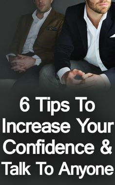 How do you approach a stranger and have an awesome conversation? We share six actionable tips that you can use to build your confidence and begin approaching people to have successful conversations. Self Confidence Tips, Confidence Building, How To Increase Confidence, Confidence Boost, Self Development, Personal Development, Life Skills, Life Lessons, Gentleman Rules