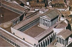 Forum Augustum - Rome - model