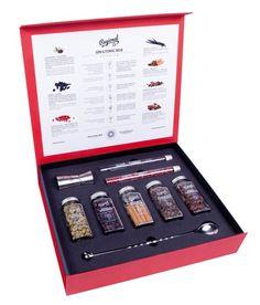 GIN & TONIC BOX - CAIXA DE ESPECIARIAS PARA GIN