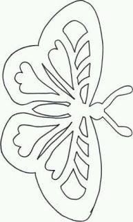 """Képtalálat a következőre: """"filigran deer"""" Butterfly Template, Butterfly Crafts, Flower Template, Butterfly Pattern, Diy Paper, Paper Art, Paper Crafts, Kirigami, Applique Patterns"""