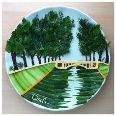 Food Art For Kids, Fun Snacks For Kids, Cooking With Kids, Kids Meals, Finger Foods For Kids, Veggie Art, Amazing Food Art, Creative Food Art, Food Carving