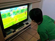 Divirtiendonos con @Nintendo #WiiFitU #WiiFi