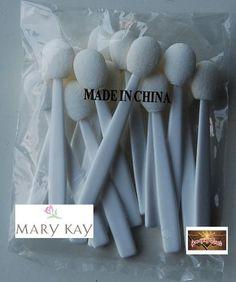 Mary Kay Sponge Eyeshadow Disposable Applicators - Pack of 15 by MARY KAY. $0.78. Mary Kay Sponge Eyeshadow Disposable Applicators - Pack of 15. Save 89%!