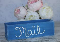 Rustic Home Decor Mail Organizer