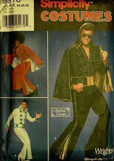 Elvis Designer Jumpsuit & Cape Costumes  by patterntreasury