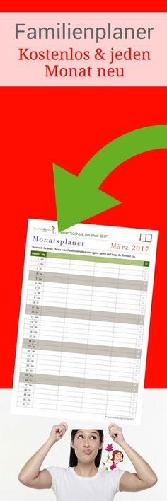 Mit diesem kostenlosen Kalender kannst du alle Termine deiner Familie planen: Kinder, Hobbys, Vereine, Schule, Uni, Arbeit etc.