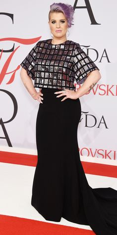 CFDA Awards 2015 Best Red Carpet Looks - Kelly Osbourne - from InStyle.com