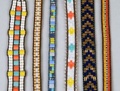 I love Miyuki beads for both their precision and beauty, Tila beads are no exception. Diy Jewelry, Beaded Jewelry, Beaded Wrap Bracelets, Tear, Beading Projects, Jewelry Patterns, Fashion Bracelets, Seed Beads, How To Make
